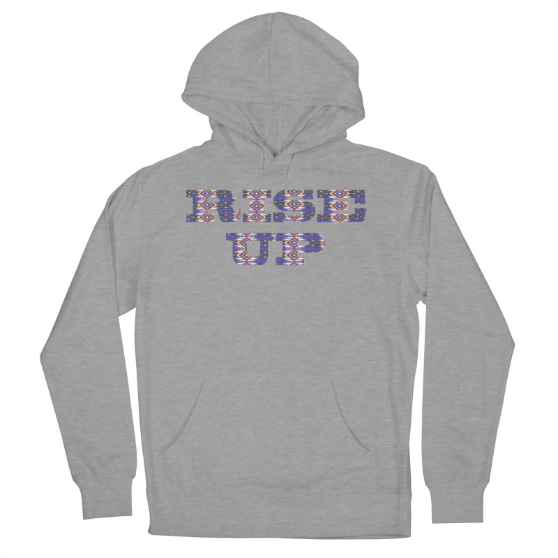 RISE UP Men's French Terry Pullover Hoody by Shawnee Rising Studios