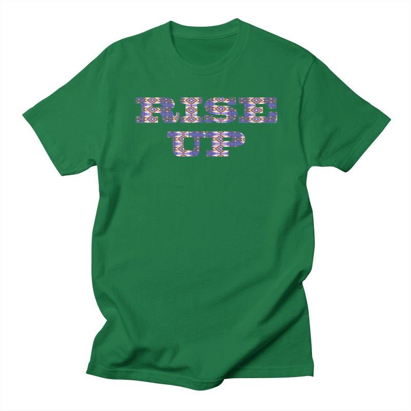 RISE UP Men's Regular T-Shirt by Shawnee Rising Studios