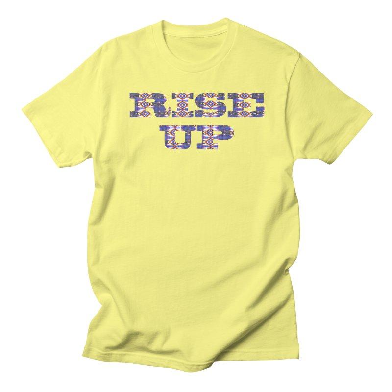 RISE UP Women's Regular Unisex T-Shirt by Shawnee Rising Studios