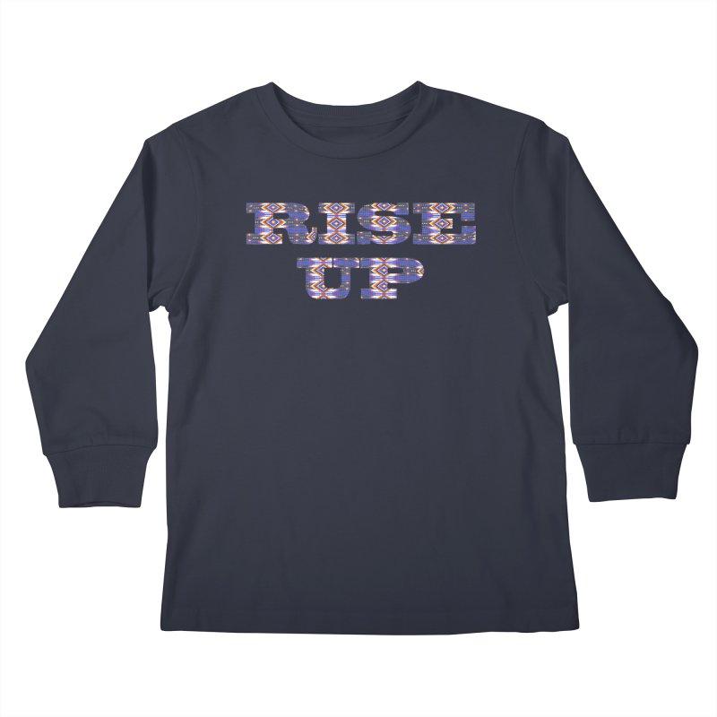 RISE UP Kids Longsleeve T-Shirt by Shawnee Rising Studios