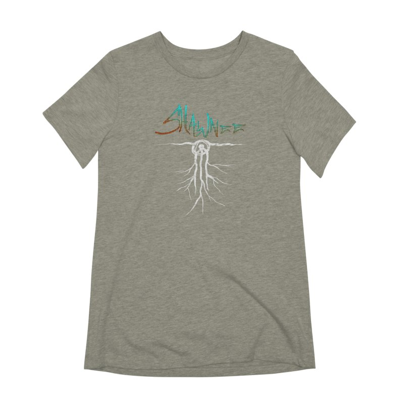 Our Roots Women's Extra Soft T-Shirt by Shawnee Rising Studios