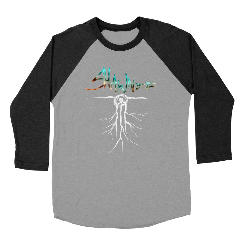 Our Roots Women's Baseball Triblend Longsleeve T-Shirt by Shawnee Rising Studios