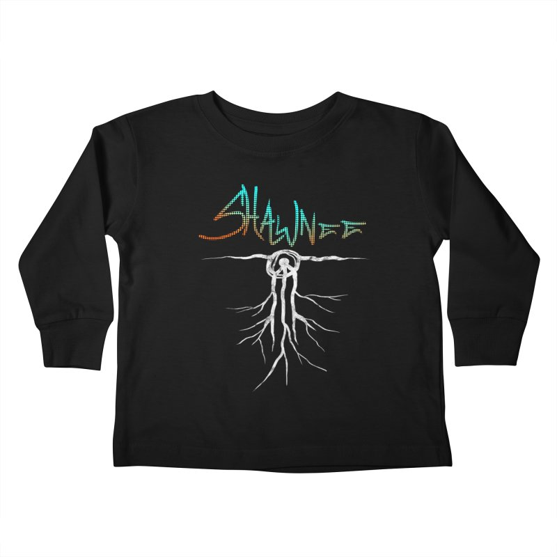 Our Roots Kids Toddler Longsleeve T-Shirt by Shawnee Rising Studios