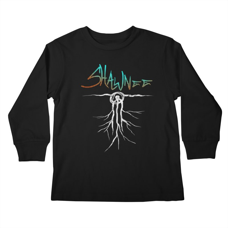 Our Roots Kids Longsleeve T-Shirt by Shawnee Rising Studios