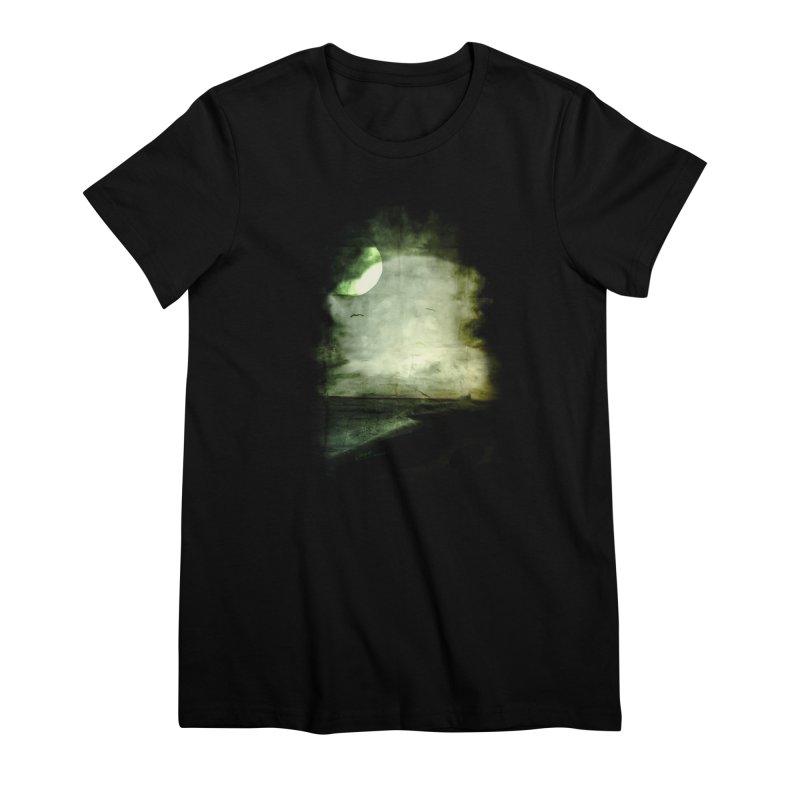 Precipice Women's Premium T-Shirt by Shawnee Rising Studios
