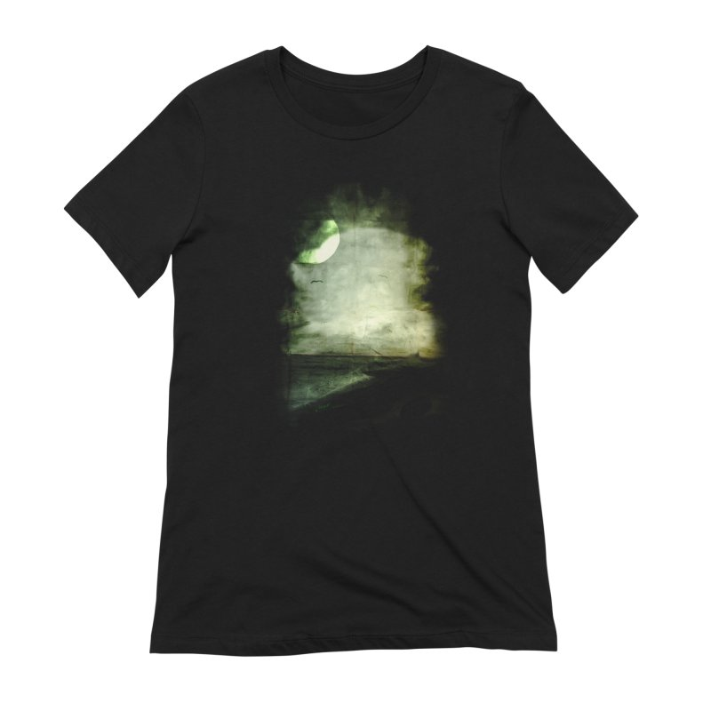 Precipice Women's Extra Soft T-Shirt by Shawnee Rising Studios