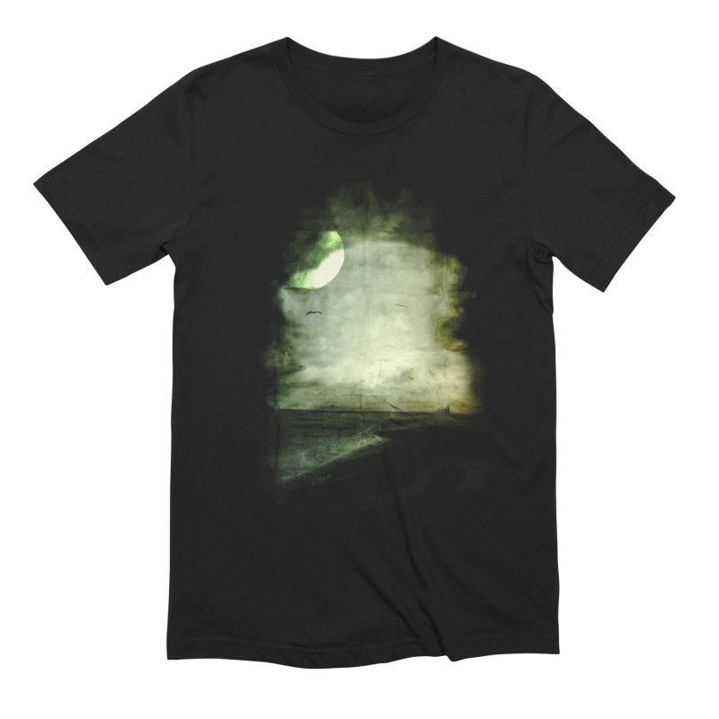 Precipice Men's Extra Soft T-Shirt by Shawnee Rising Studios