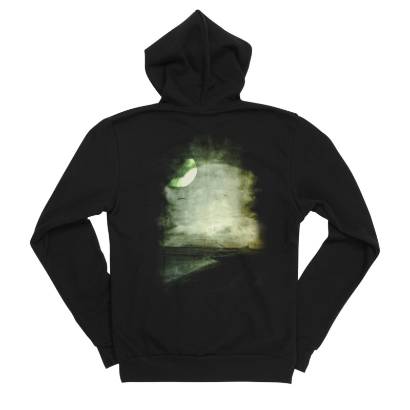 Precipice Men's Sponge Fleece Zip-Up Hoody by Shawnee Rising Studios