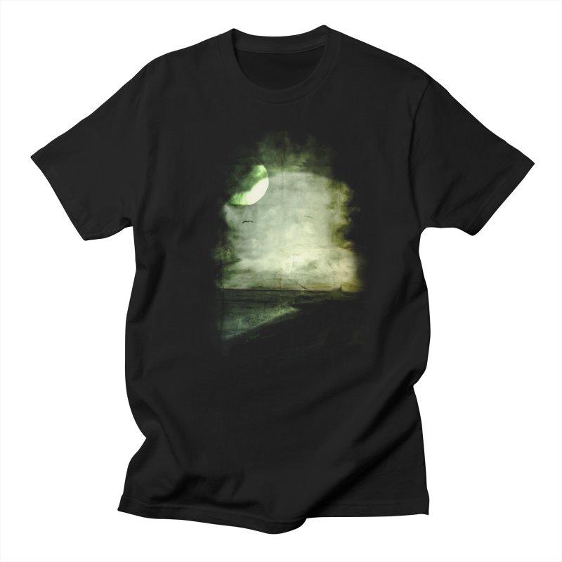 Precipice Men's T-Shirt by Shawnee Rising Studios