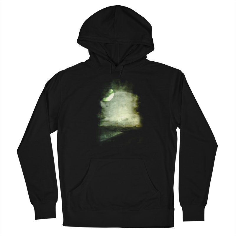 Precipice Men's French Terry Pullover Hoody by Shawnee Rising Studios