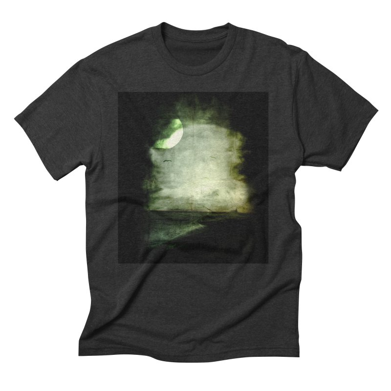 Precipice Men's Triblend T-Shirt by Shawnee Rising Studios