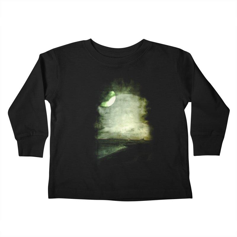 Precipice Kids Toddler Longsleeve T-Shirt by Shawnee Rising Studios