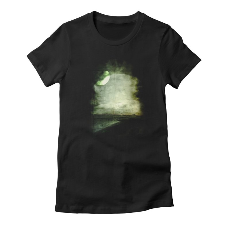 Precipice Women's Fitted T-Shirt by Shawnee Rising Studios