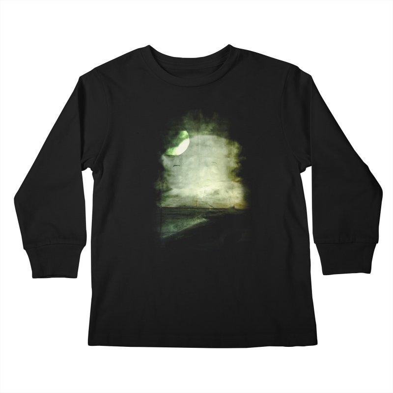 Precipice Kids Longsleeve T-Shirt by Shawnee Rising Studios
