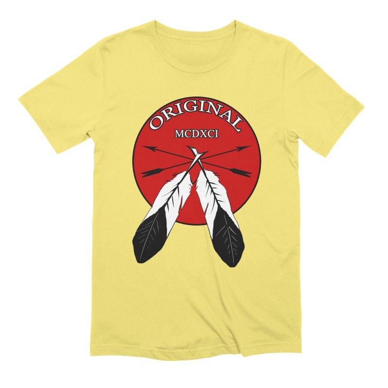 Original Men's Extra Soft T-Shirt by Shawnee Rising Studios