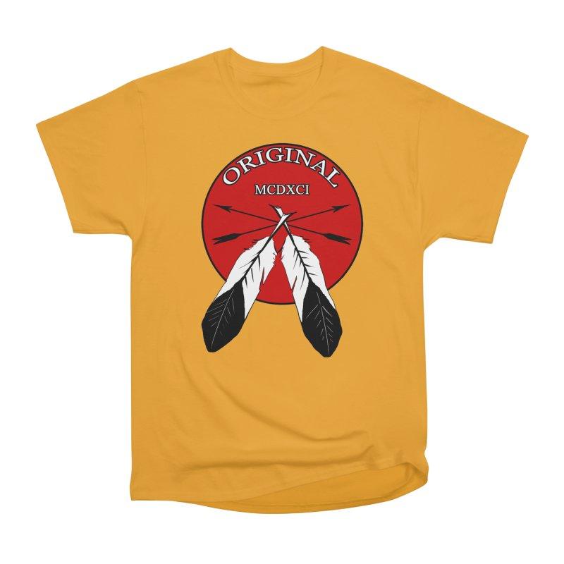 Original Women's Heavyweight Unisex T-Shirt by Shawnee Rising Studios