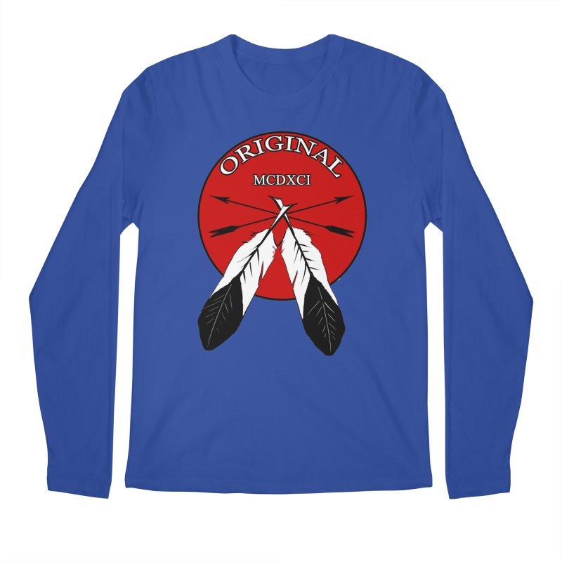 Original Men's Regular Longsleeve T-Shirt by Shawnee Rising Studios