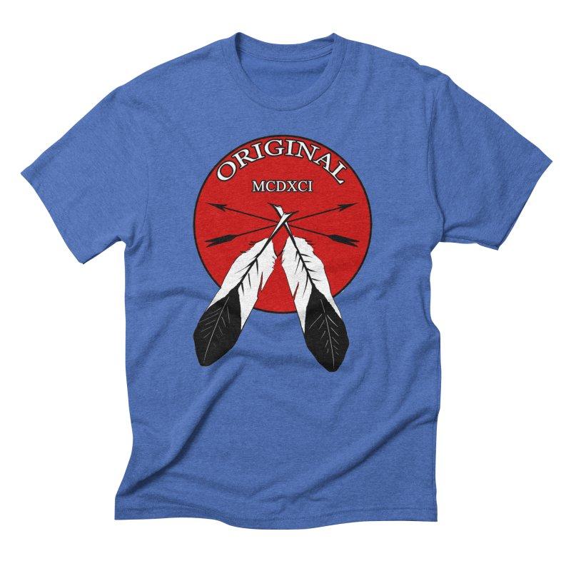 Original Men's Triblend T-Shirt by Shawnee Rising Studios