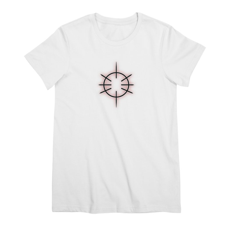 Center Drum Women's Premium T-Shirt by Shawnee Rising Studios