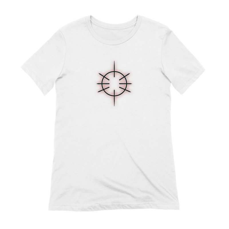 Center Drum Women's Extra Soft T-Shirt by Shawnee Rising Studios