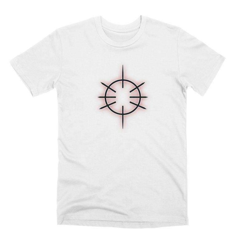 Center Drum Men's T-Shirt by Shawnee Rising Studios