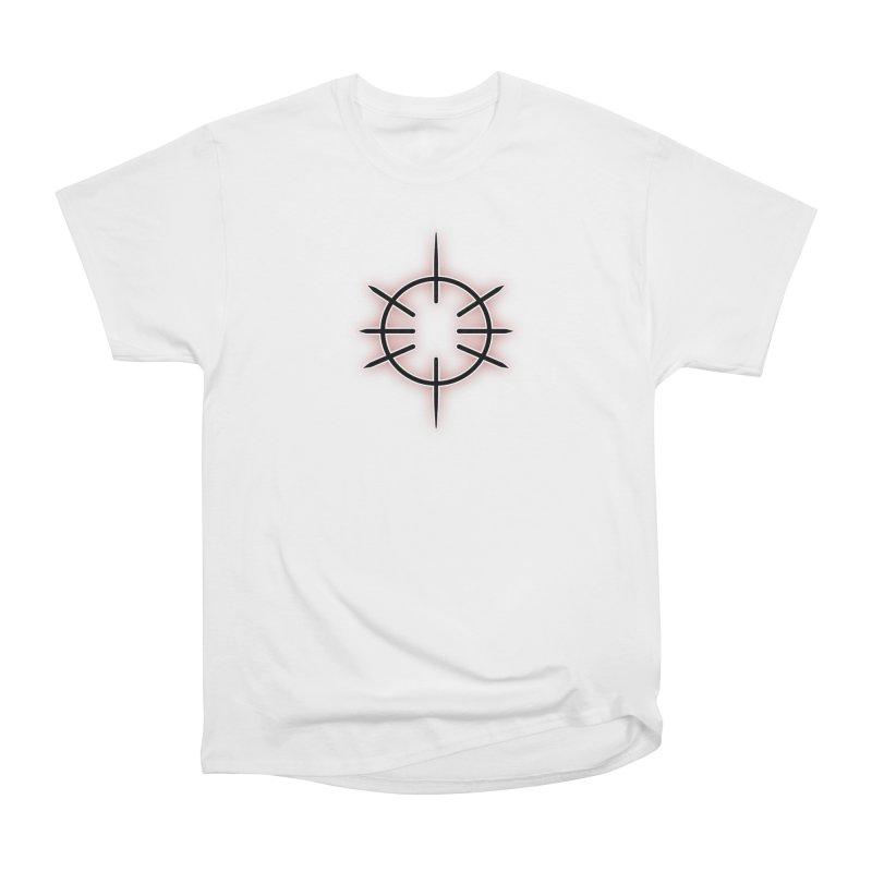 Center Drum Men's Heavyweight T-Shirt by Shawnee Rising Studios