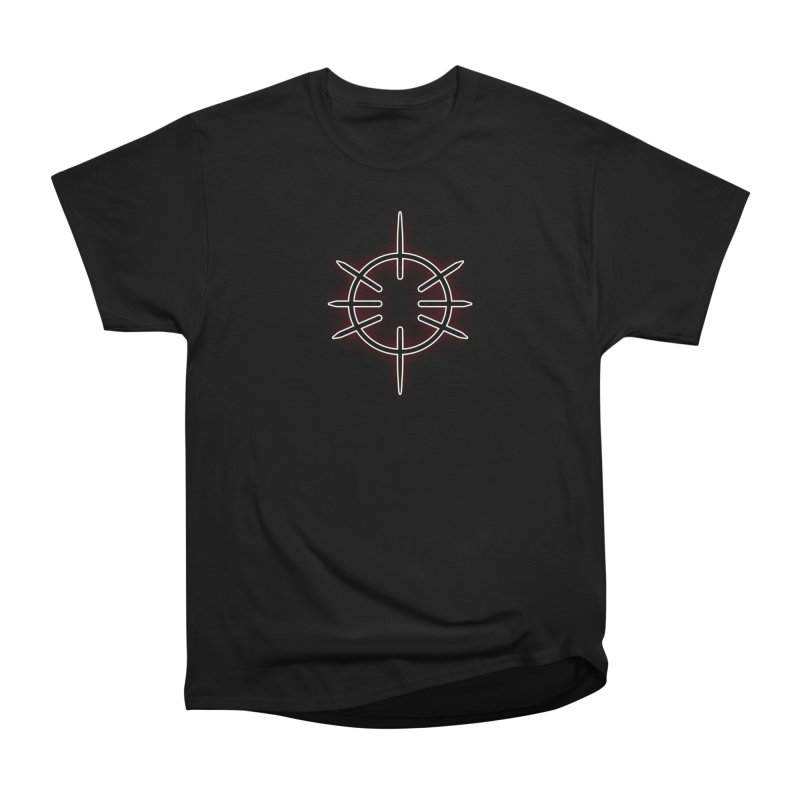 Center Drum Women's Heavyweight Unisex T-Shirt by Shawnee Rising Studios