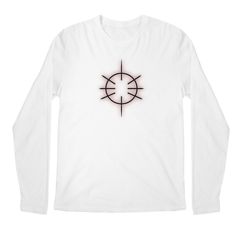 Center Drum Men's Regular Longsleeve T-Shirt by Shawnee Rising Studios