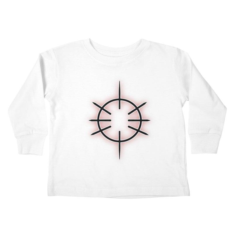 Center Drum Kids Toddler Longsleeve T-Shirt by Shawnee Rising Studios