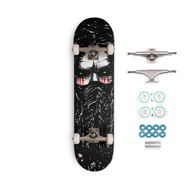 Darkness Within - Skateboard Accessories Complete - Basic Skateboard by Shawnee Rising Studios