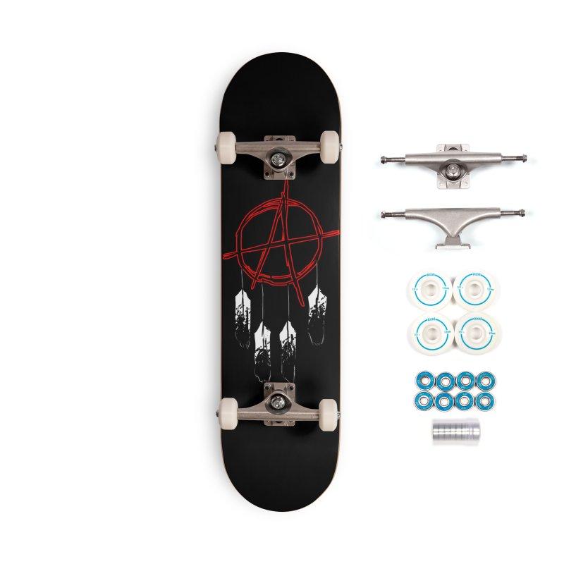 Punk Native - Skateboard Accessories Complete - Basic Skateboard by Shawnee Rising Studios