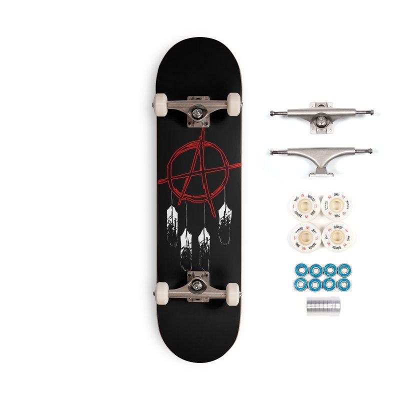 Punk Native - Skateboard Accessories Complete - Premium Skateboard by Shawnee Rising Studios