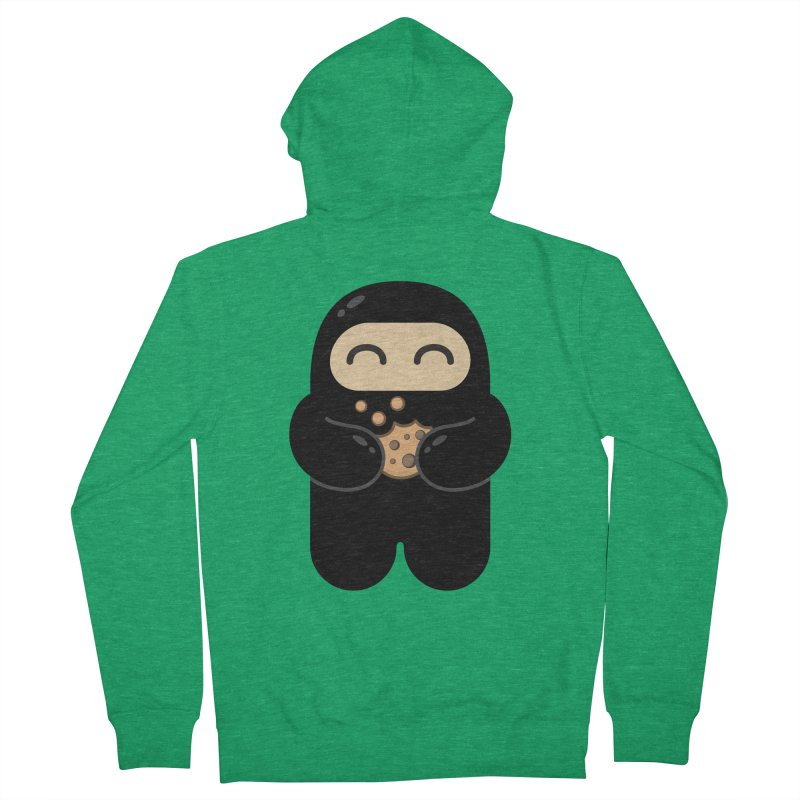Cookie Ninja Women's Zip-Up Hoody by Shawnimals