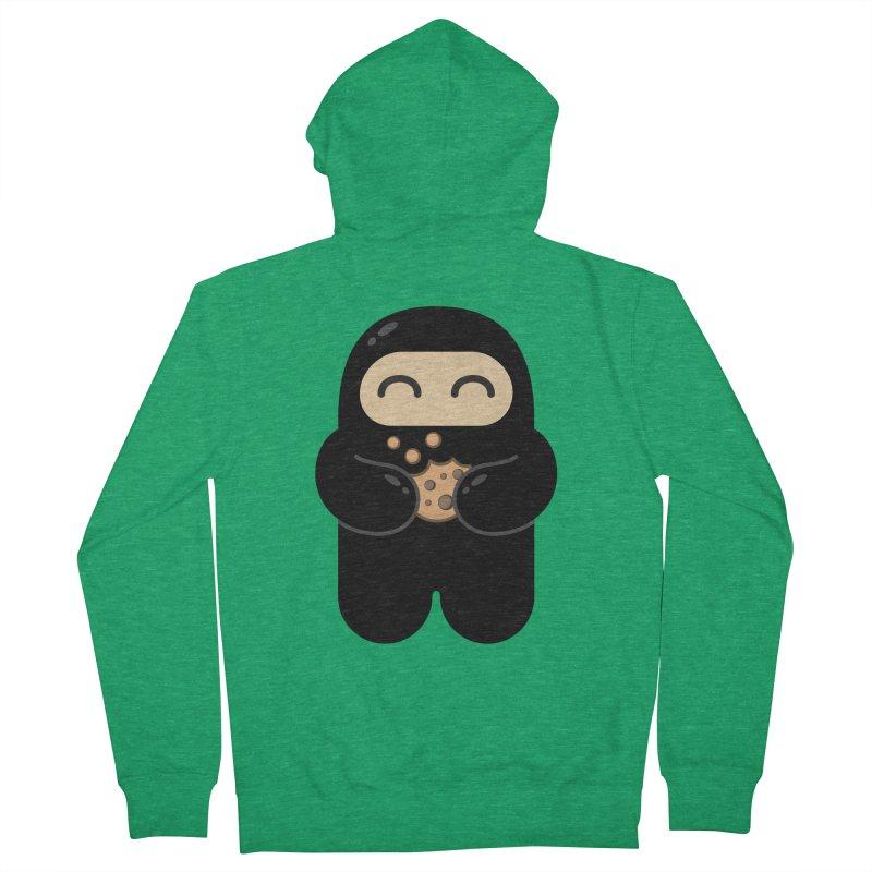 Cookie Ninja Men's Zip-Up Hoody by Shawnimals