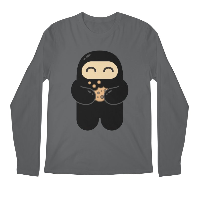 Cookie Ninja Men's Longsleeve T-Shirt by Shawnimals