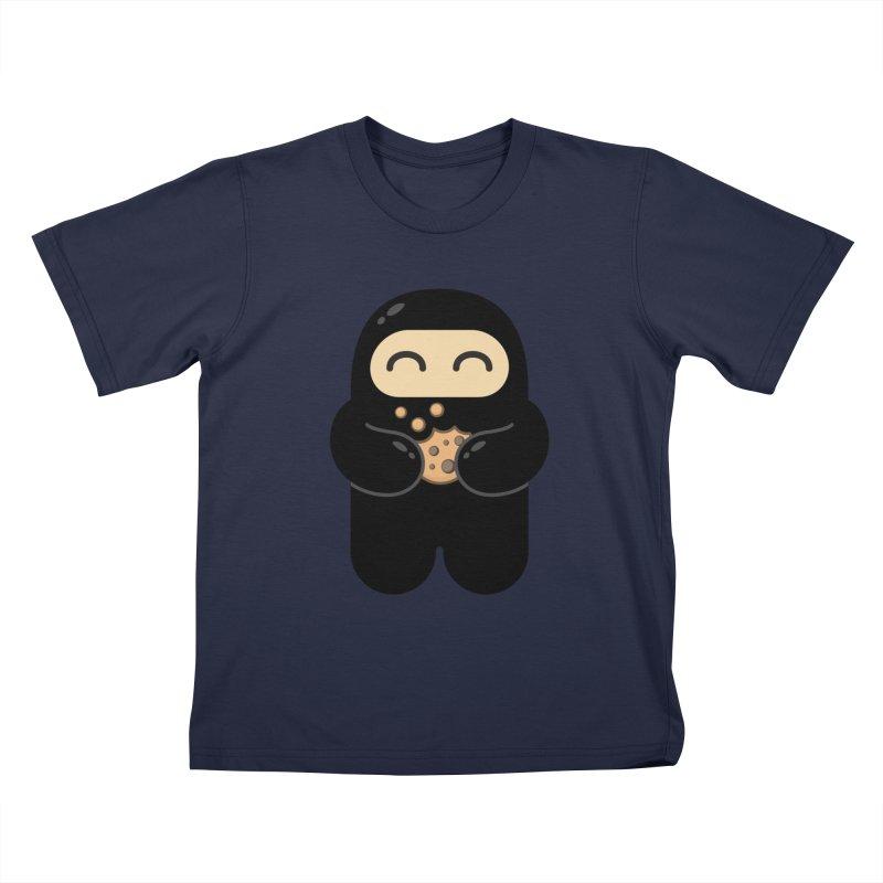 Cookie Ninja Kids T-Shirt by Shawnimals