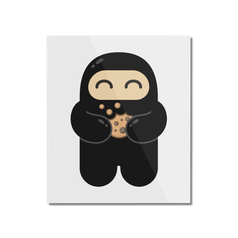 Cookie Ninja Home Mounted Acrylic Print by Shawnimals