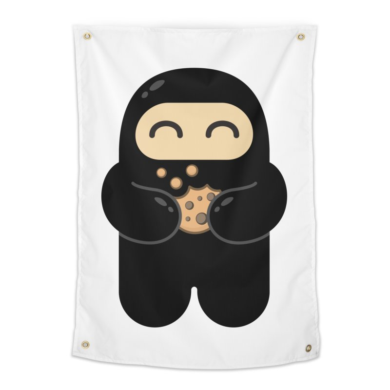 Cookie Ninja Home Tapestry by Shawnimals