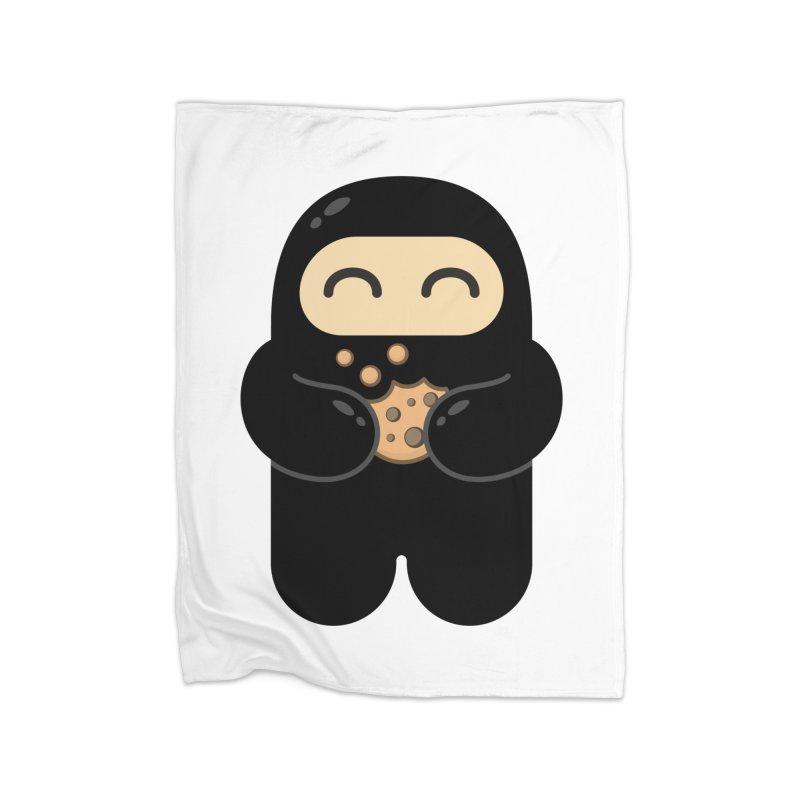Cookie Ninja Home Blanket by Shawnimals