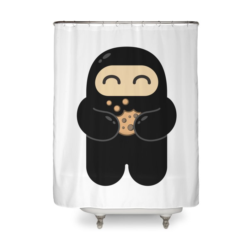 Cookie Ninja Home Shower Curtain by Shawnimals