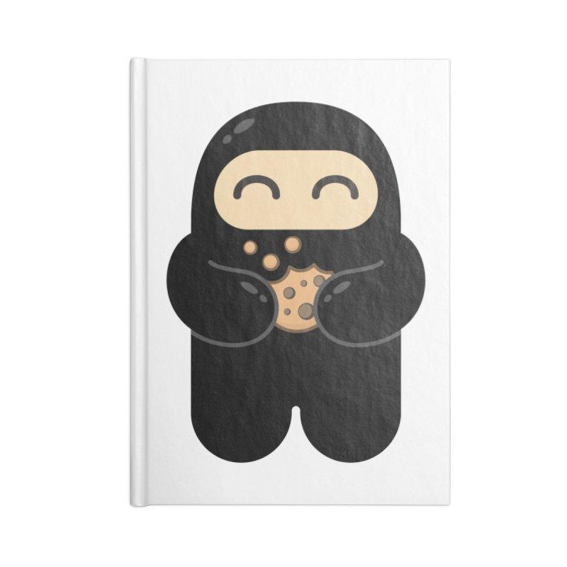Cookie Ninja Accessories Notebook by Shawnimals