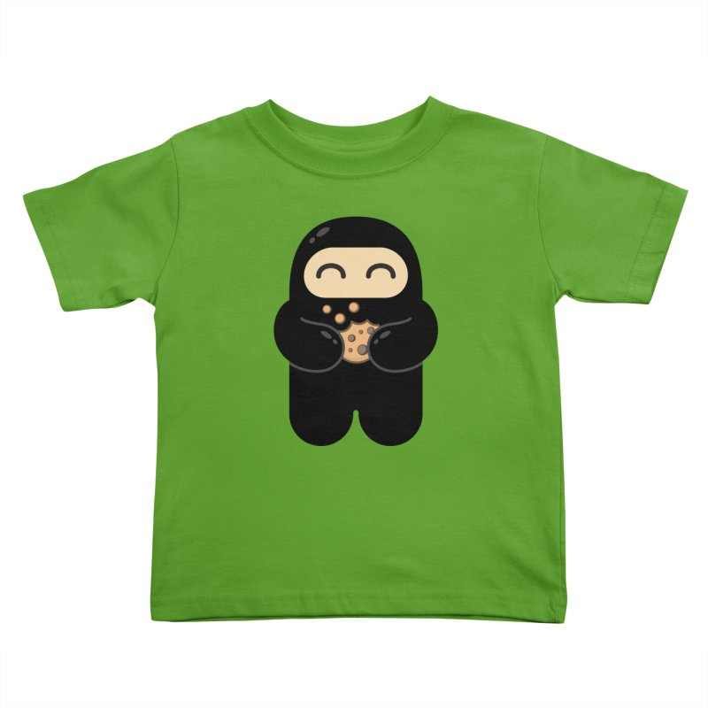 Cookie Ninja Kiddos Toddler T-Shirt by Shawnimals