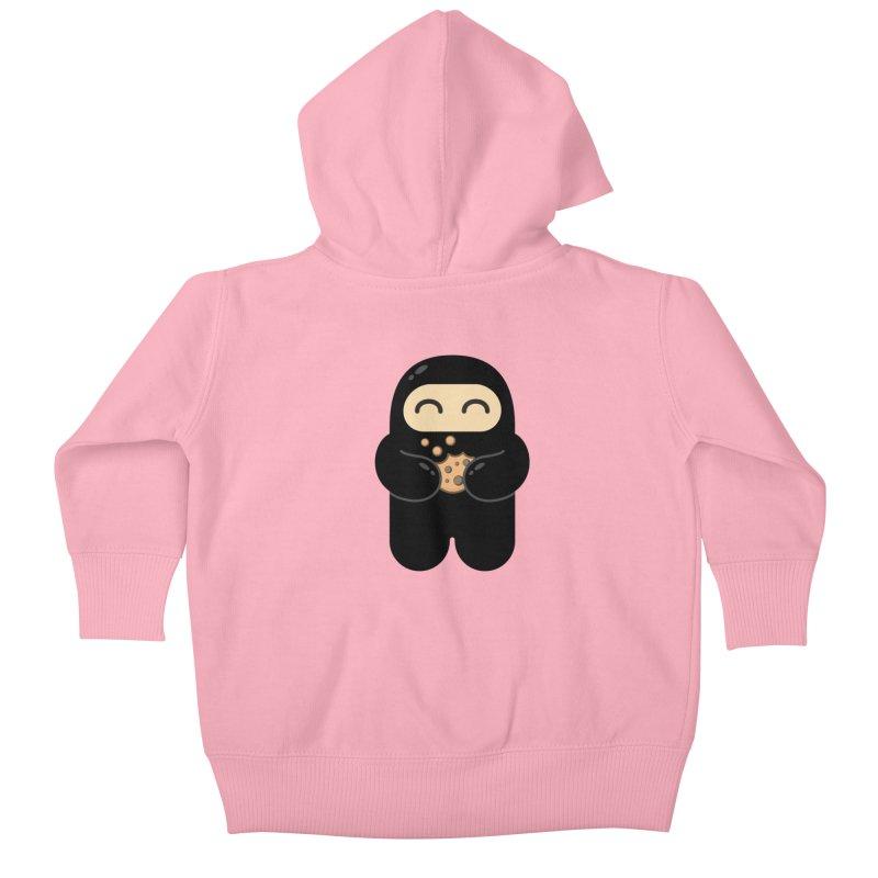 Cookie Ninja Kiddos Baby Zip-Up Hoody by Shawnimals