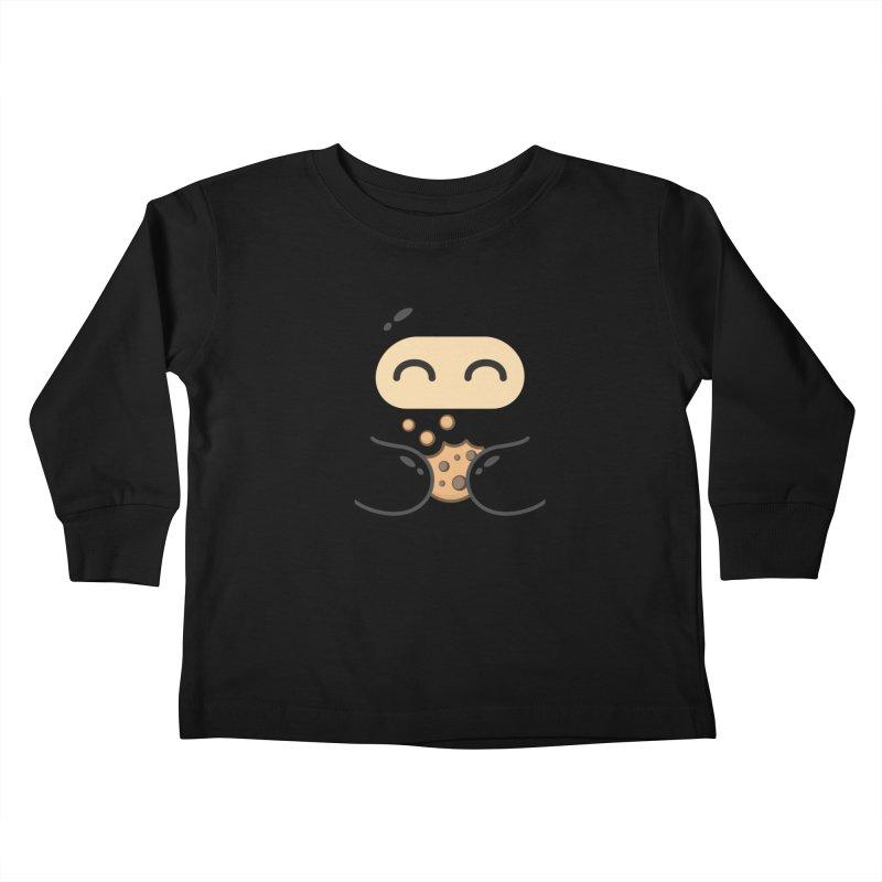 Cookie Ninja Kiddos Toddler Longsleeve T-Shirt by Shawnimals