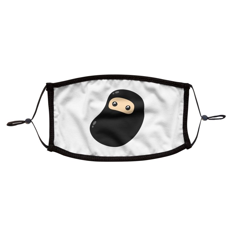 Baby Ninja Accessories Face Mask by Shawnimals