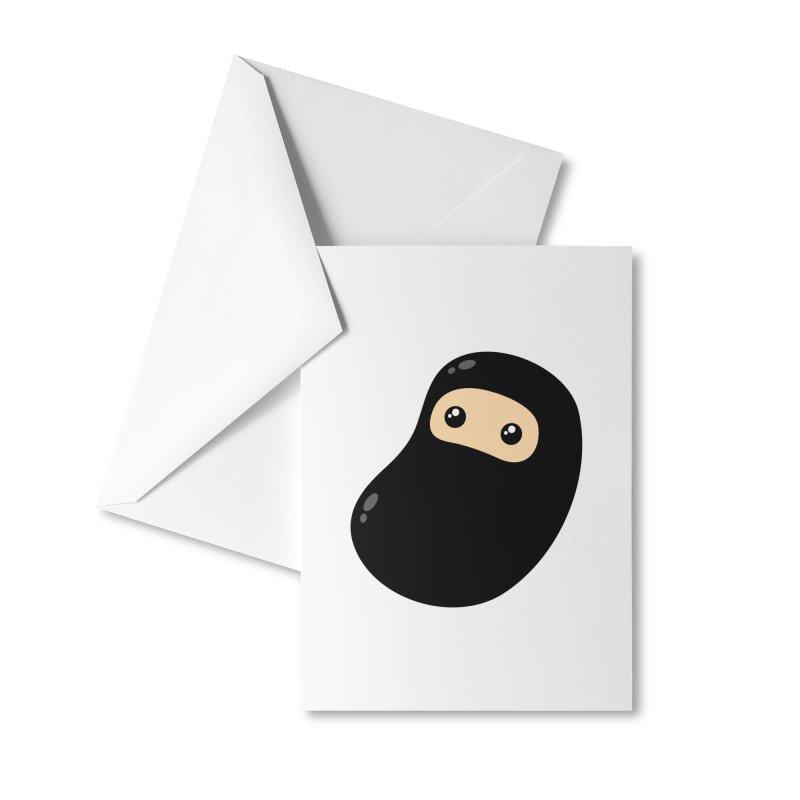 Baby Ninja Accessories Greeting Card by Shawnimals