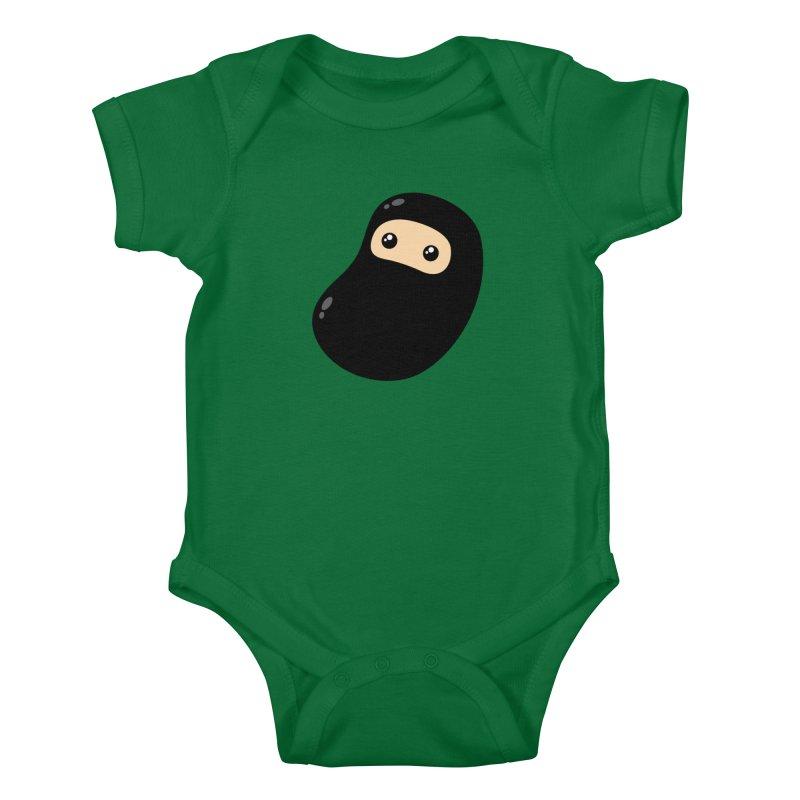 Baby Ninja Kiddos Baby Bodysuit by Shawnimals