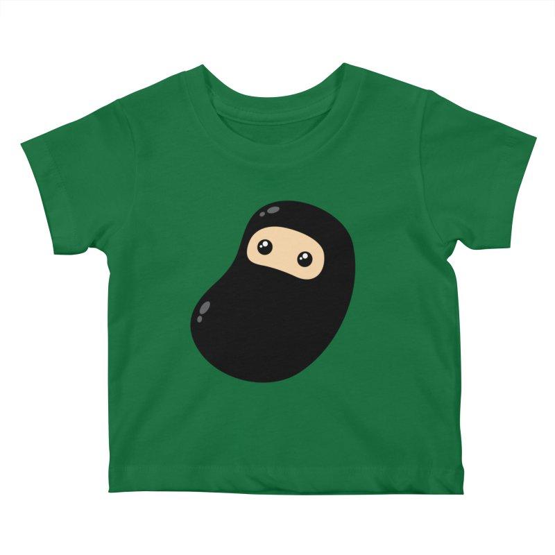 Baby Ninja Kiddos Baby T-Shirt by Shawnimals