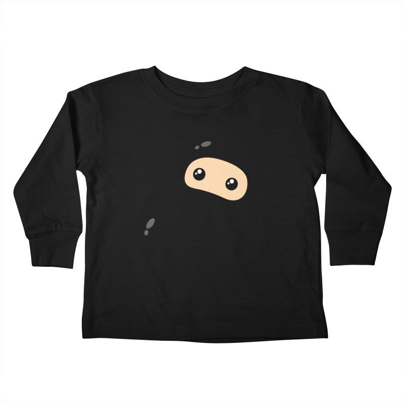 Baby Ninja Kiddos Toddler Longsleeve T-Shirt by Shawnimals