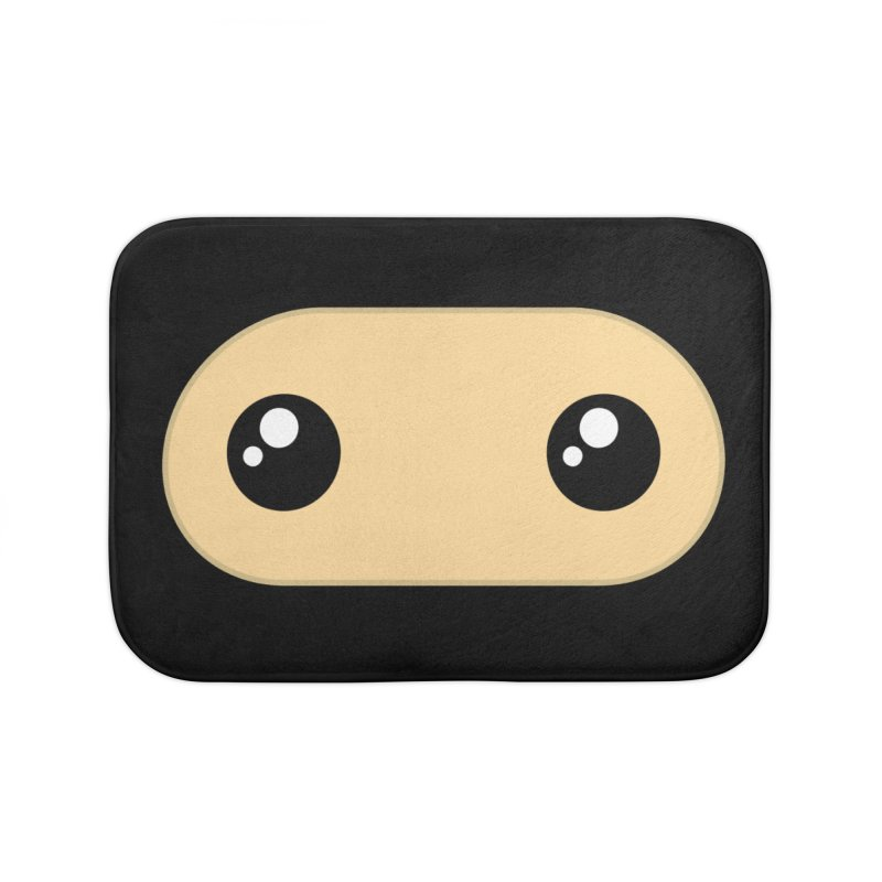 Just the Mask Home Bath Mat by Shawnimals